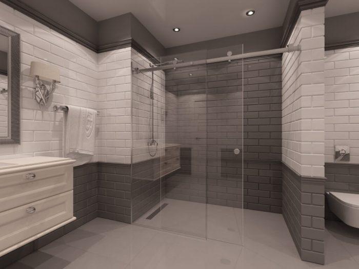 Параван за баня Los Angeles
