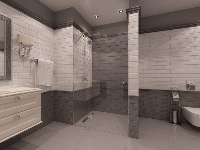 Параван за баня Ontario