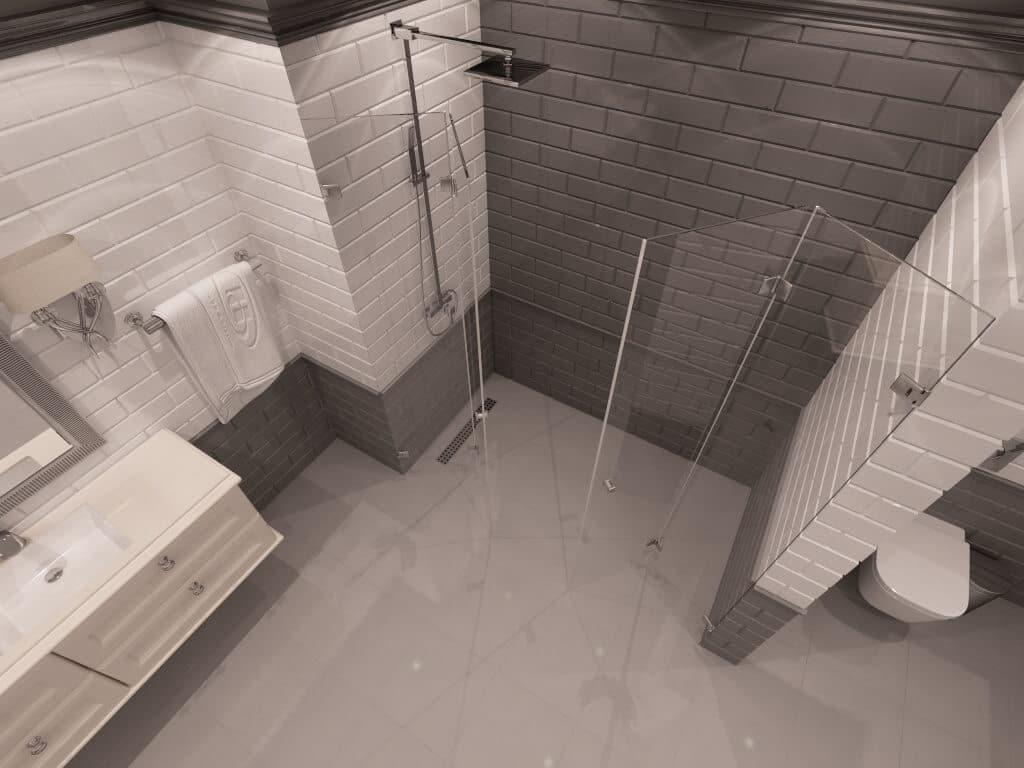 Параван за баня Oregon