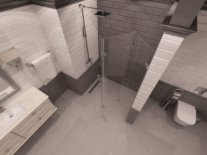 Параван за баня Seattle