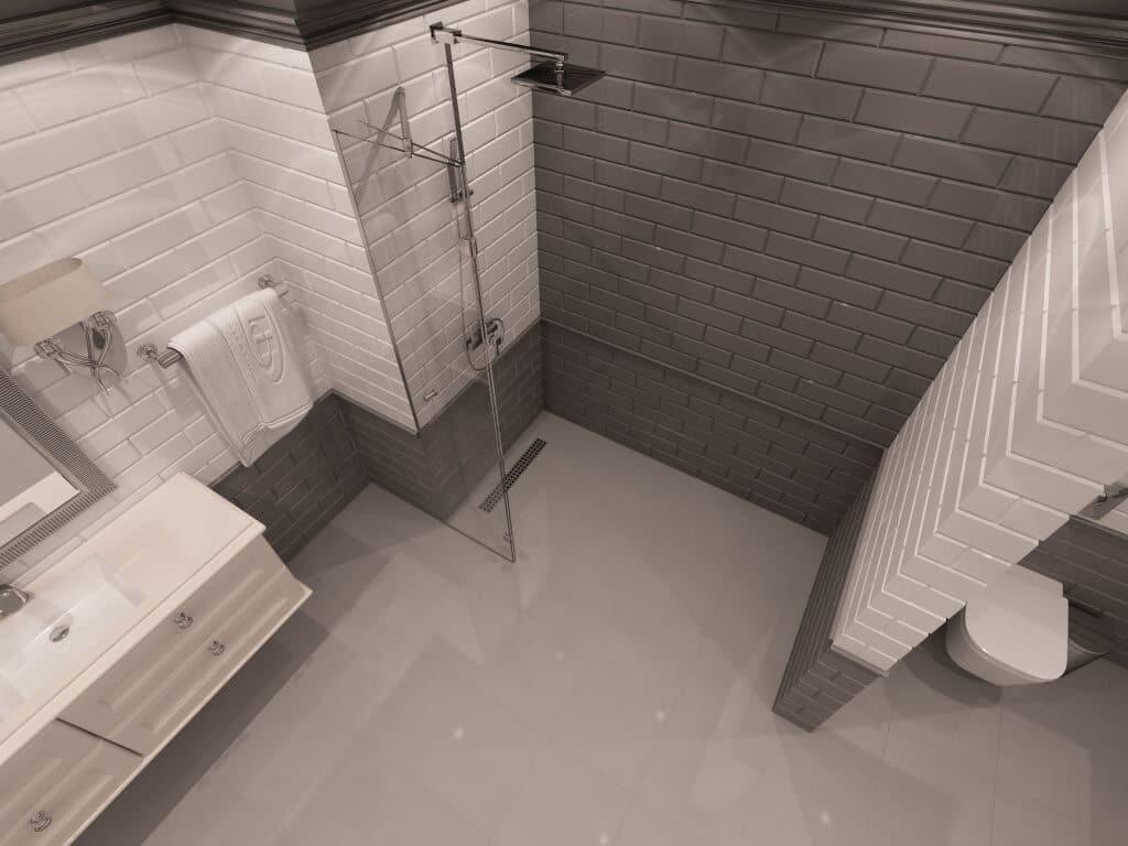 Параван за баня Texas